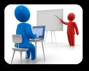 Les classes on-line són amb una professora particular que li ensenya alemany